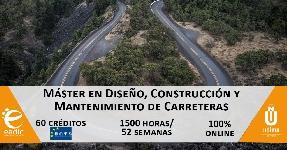 Online: Becas para Maestría Diseño, Construcción y Mantenimiento de Carreteras EADIC/OEA