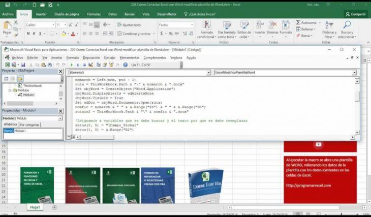 Aprende a Programar en Word y Excel con Visual Basic
