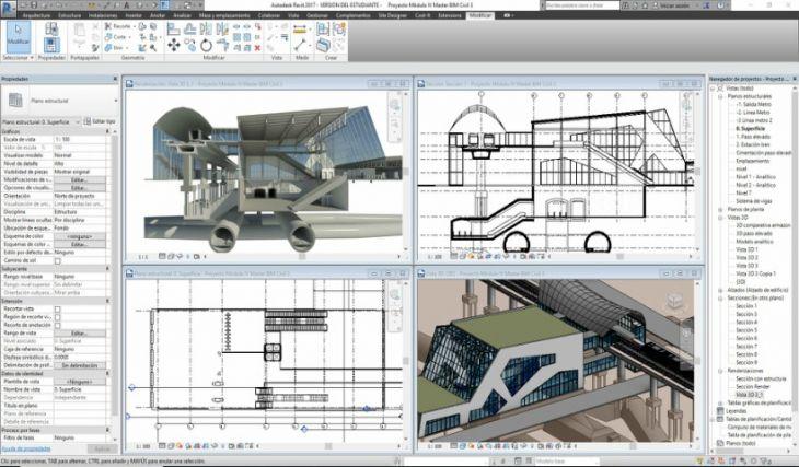 Usos del Programa Revit en Arquitectura