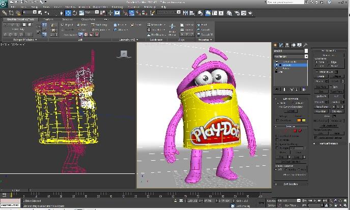 Diseño, Fundamentos de 3D y manejo de 3DS MAX