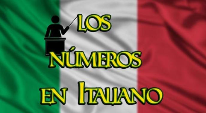 Aprende todos los números en Italiano