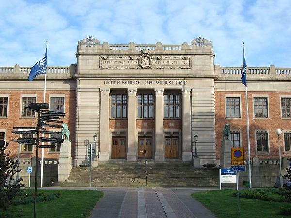 Suecia: Becas para Maestría en Varios Temas Gothenburg University