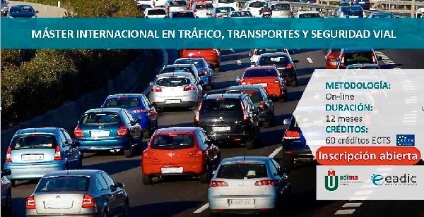Online: Becas para Maestría Internacional en Tráfico, Transportes y Seguridad Vial EADIC/OEA